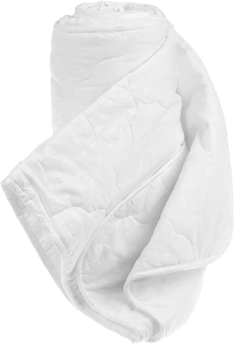 Одеяло Sova & Javoronok, наполнитель: бамбуковое волокно, полиэфирное волокно, 140 х 205 см05030116078Одеяло Sova & Javoronok подарит комфорт и уют во время сна. Чехол, выполненный из микрофибры (100% полиэстер), оформлен стежкой и надежно удерживает наполнитель внутри. Наполнитель одеяла изготовлен из 30% верблюжьей шерсти и 70% полиэфирного волокна. Волокно на основе бамбука - инновационный наполнитель, обладающий за счет своей пористой структуры хорошей воздухонепроницаемостью и высокой гигроскопичностью, обеспечивает оптимальный уровень влажности во время сна и создает чувство прохлады в жаркие дни.Антибактериальный эффект наполнителя достигается за счет содержания в нем специального компонента, а также за счет поглощения влаги, что создает сухой микроклимат, препятствующий росту бактерий. Основные свойства волокна: - хорошая терморегуляция, - свободная циркуляция воздуха, - антибактериальные свойства, - повышенная гигроскопичность, - мягкость и легкость, - удобство в эксплуатации и легкость стирки. Рекомендации по уходу: - Стирка запрещена. - Не отбеливать, не использовать хлоросодержащие моющие средства и стиральные порошки с отбеливателями.- Не выжимать в стиральной машине.