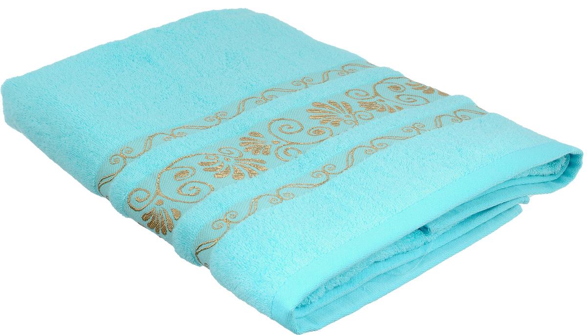 Полотенце Bonita Голубое сияние, цвет: голубой, 70 х 140 см1010216321Полотенце Bonita Голубое сияние изготовлено из мягкой смесовой ткани (30% хлопок и 70% бамбук). Полотенце идеально впитывает влагу и сохраняет свою необычайную мягкость даже после многих стирок. Полотенце Bonita - отличный вариант для практичной и современной хозяйки.С ним ваш дом наполнится красотой и только прекрасными эмоциями.
