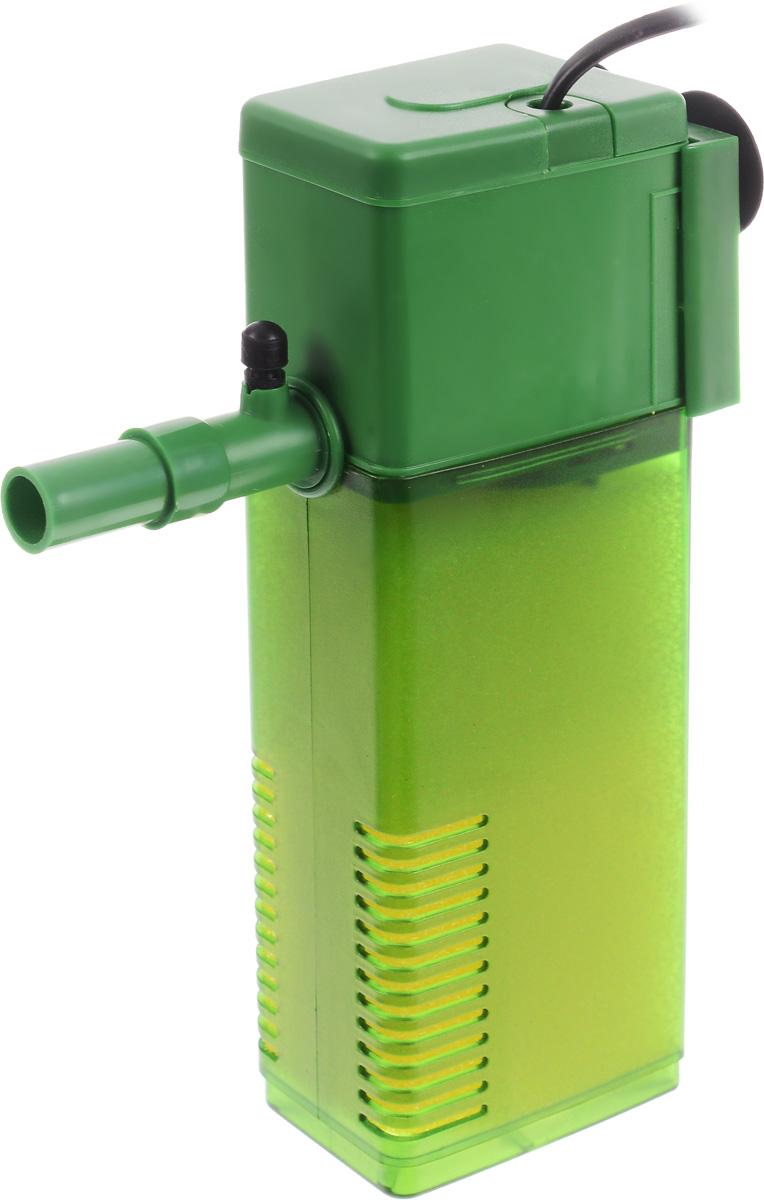 Фильтр для воды Barbus WP- 350F, аквариумный, с регулятором, 1200 л/ч фильтр для воды barbus wp 340f аквариумный с регулятором и флейтой 800 л ч
