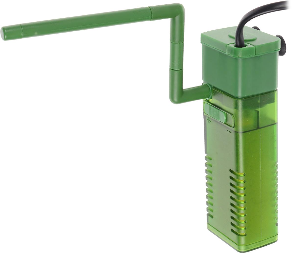Фильтр для воды Barbus WP- 320F, аквариумный, с регулятором и флейтой, 500 л/ч фильтр для воды barbus wp 340f аквариумный с регулятором и флейтой 800 л ч