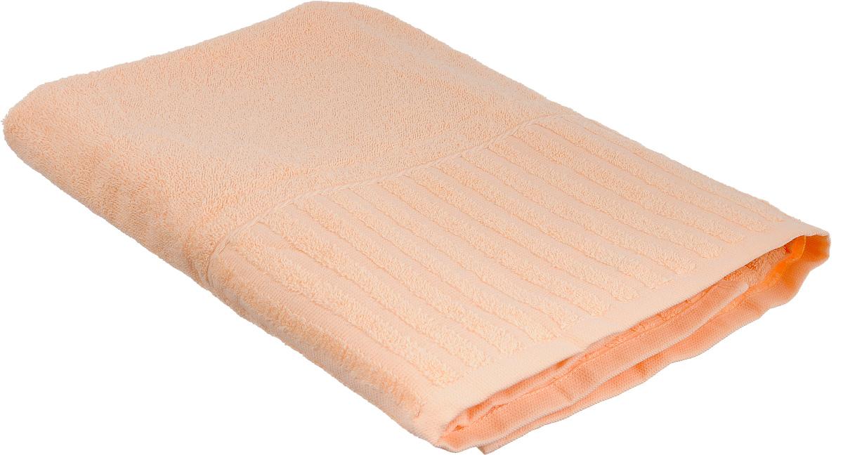 Полотенце Bonita Персик, цвет: персиковый, 70 х 140 см1011116025Полотенце Bonita Персик изготовлено из натурального хлопка и оформлено рисунком с узорами. Полотенце идеально впитывает влагу и сохраняет свою необычайную мягкость даже после многих стирок. Полотенце Bonita - отличный вариант для практичной и современной хозяйки.С ним ваш дом наполнится красотой и только прекрасными эмоциями.