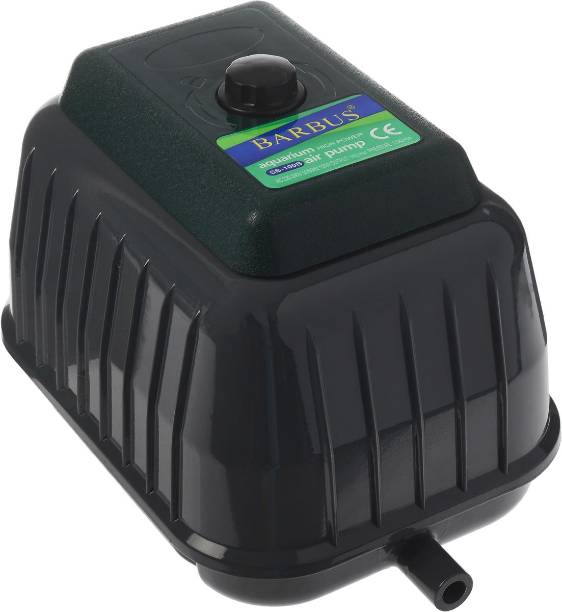 Компрессор воздушный аквариумный Barbus, 100 Вт сверхмощный клапан датчиков регулятор воздушный компрессор переключатель контроля давления насоса