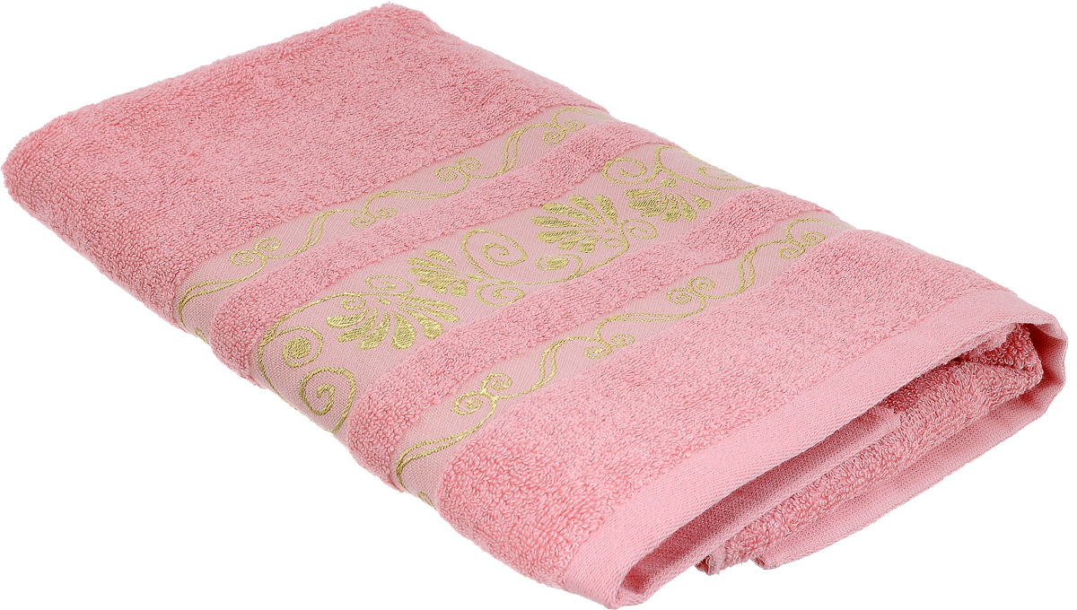 Полотенце Bonita Розовый фламинго, цвет: розовый, 50 х 90 см1010216318Полотенце Bonita Розовый фламинго изготовлено из из мягкой смесовой ткани (30% хлопок и 70% бамбук) и оформлено рисунком с узорами.Полотенце идеально впитывает влагу и сохраняет свою необычайную мягкость даже после многих стирок. Полотенце Bonita - отличный вариант для практичной и современной хозяйки. С ним ваш дом наполнится красотой и только прекрасными эмоциями.