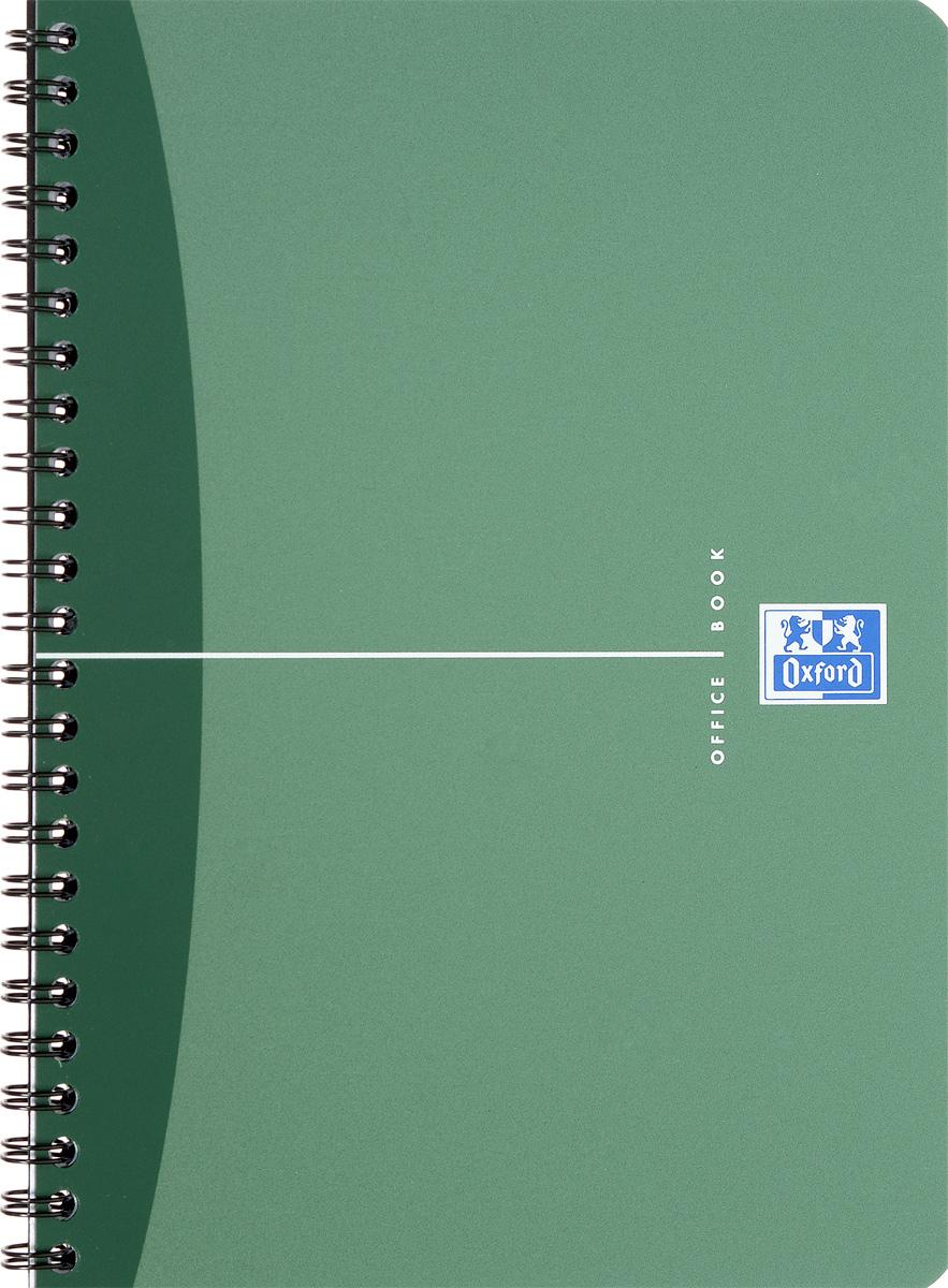 Oxford Тетрадь Urban Mix 50 листов в клетку цвет зеленый817830_зеленыйКрасивая и практичная тетрадь Oxford Urban Mix отлично подойдет для офиса и учебы. Тетрадь формата А5 состоит из 50 белых листов с четкой яркой линовкой в клетку. Обложка тетради выполнена из плотного полипропилена и оформлена символом Оксфордского университета. Двойная спираль надежно удерживает листы. Также тетрадь имеет скругленные углы и гибкую съемную закладку-линейку из матового полупрозрачного пластика с изображением лондонского Биг Бена.