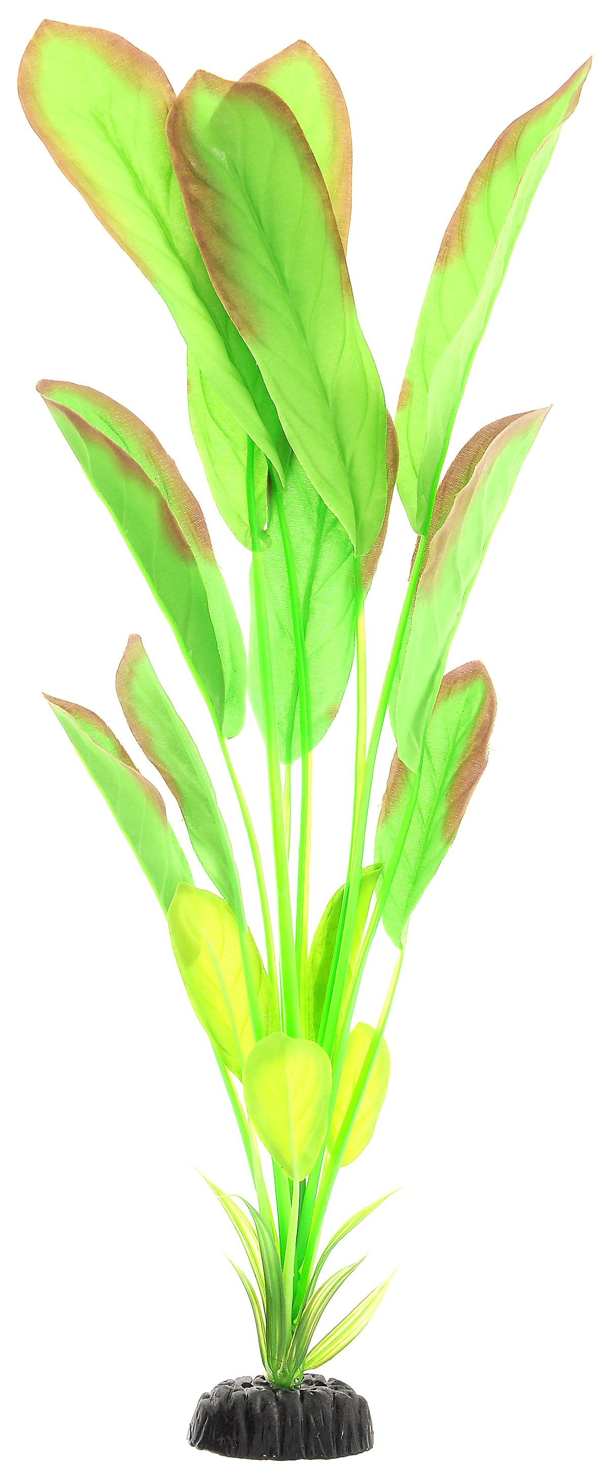 Растение для аквариума Barbus Эхинодорус, шелковое, высота 50 см. Plant 037/50 обогреватель для аквариума barbus новое поколение с терморегулятором 50 вт длина шнура 150 см