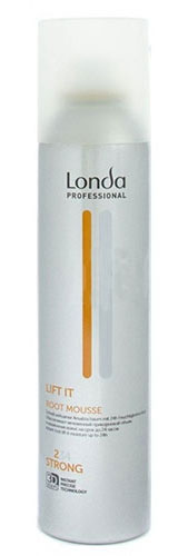 LC СТАЙЛИНГ Муссд/прикорн объема норм фиксацииLIFT IT 250 мл0990-81545301Профессиональный мусс Londa Flat Ban с микрополимерами 3D-Sculpt для создания заметно большего объема в прикорневой зоне и интенсивного увлажнения тонких волос. Визуально удваивает объем у корней волос на срок до 24 часов, улучшает фиксацию прически и обладает увлажняющими свойствами. Характеристики:Объем: 250 мл. Производитель: Германия. Товар сертифицирован.