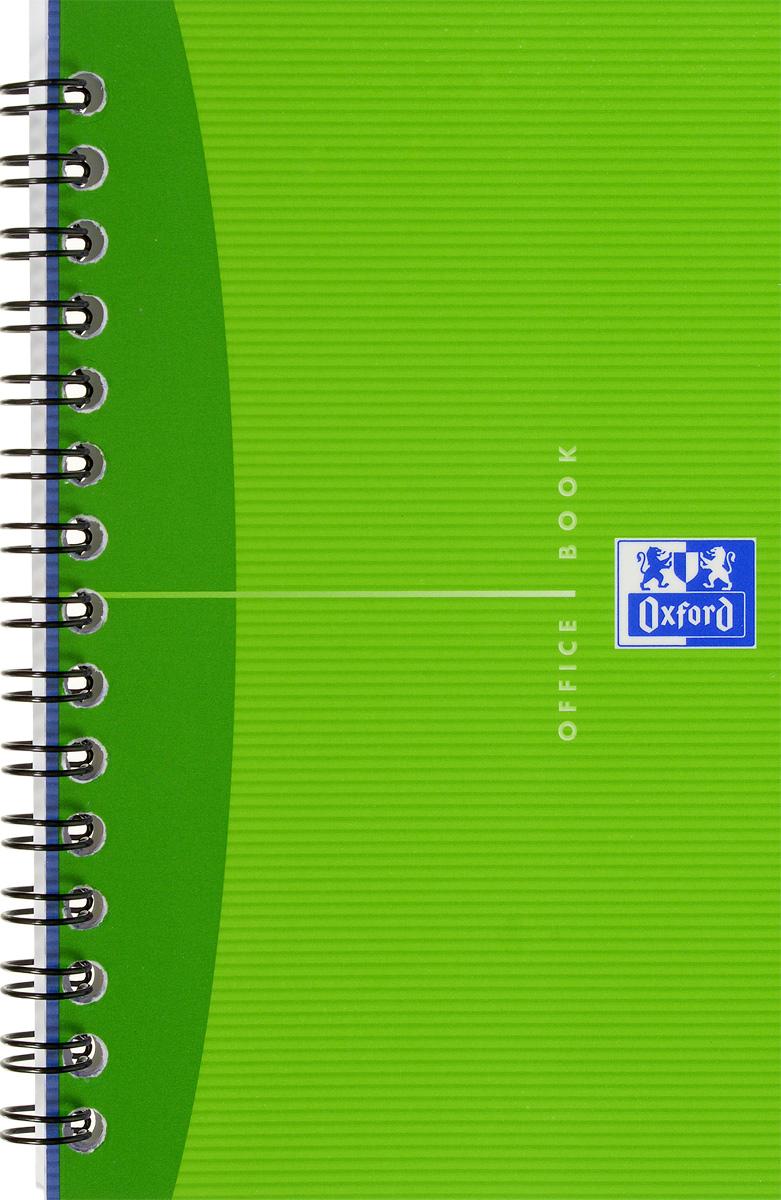 Oxford Тетрадь Essentials 50 листов в клетку цвет салатовый822568_салатовыйКрасивая и практичная тетрадь Oxford Essentials отлично подойдет для офиса и учебы. Тетрадь состоит из 50 белых листов с четкой яркой линовкой в клетку. Обложка тетради выполнена из плотного ламинированного картона. Удобный металлический гребень надежно удерживает листы. Также тетрадь имеет скругленные углы.
