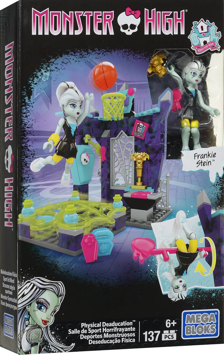 Mega Bloks Monster High Конструктор Класс физкультуры mega bloks monster high конструктор lorna mcnessie