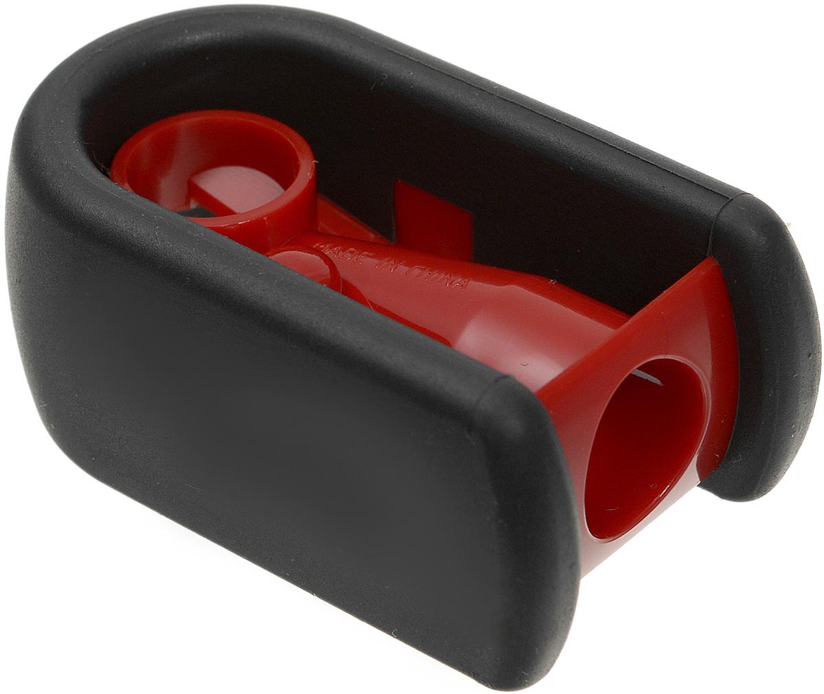Faber-Castell Точилка цвет красный черный184801_красныйТочилка Faber-Castell предназначена для затачивания классических простых и цветных карандашей. Точилка, выполненная в форме магнита, содержит матовую область для захвата. Острые лезвия обеспечивают высококачественную и точную заточку деревянных карандашей.