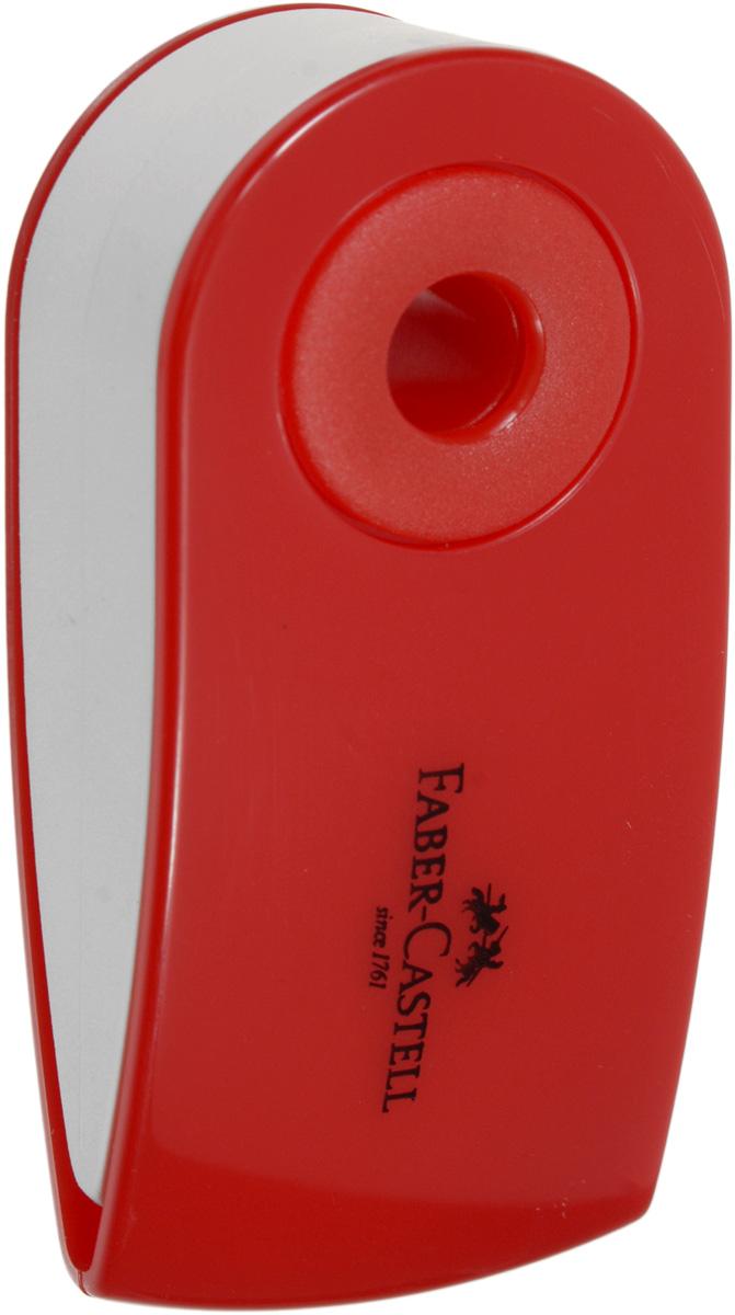 Faber-Castell Ластик Sleeve цвет красный