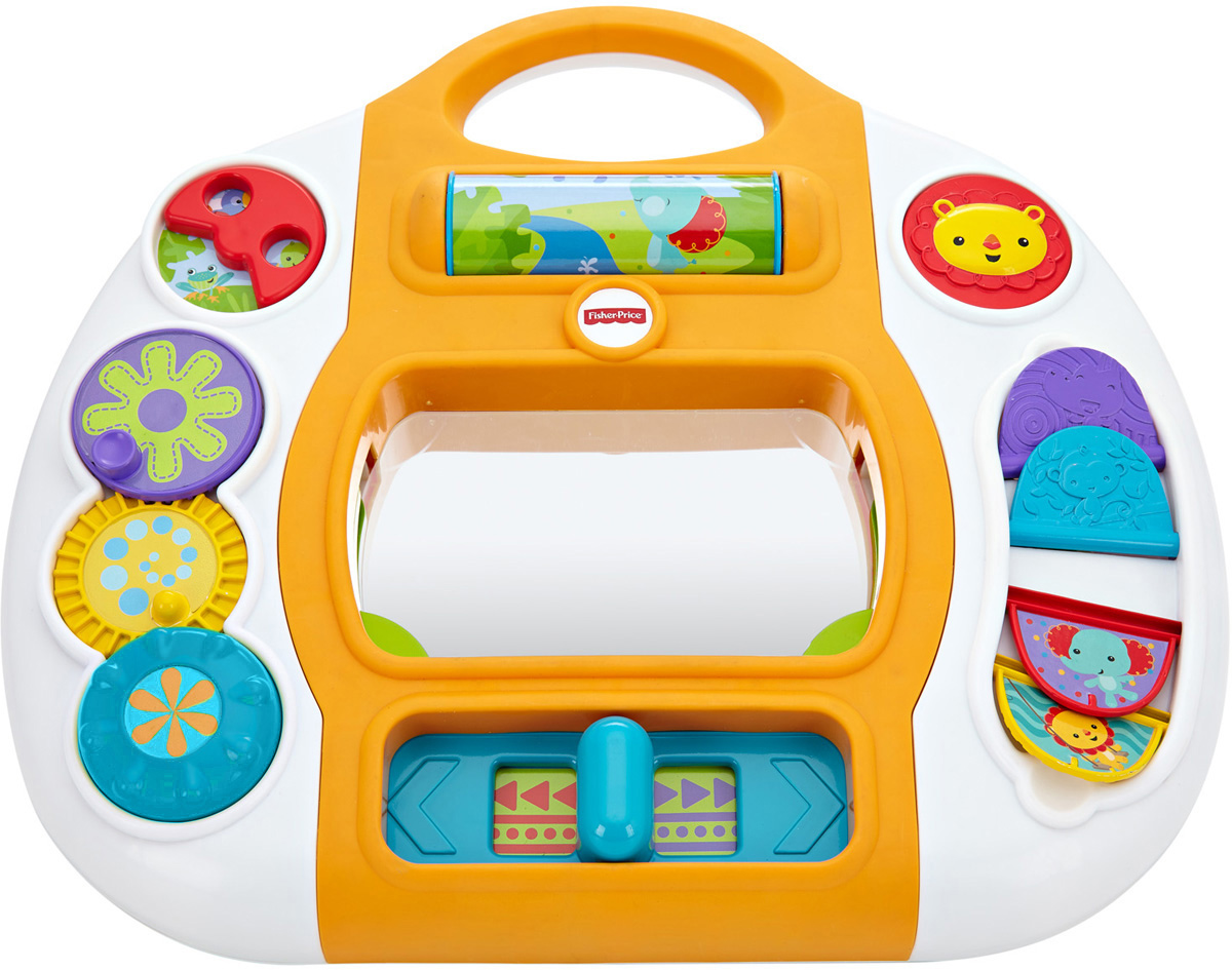 Fisher-Price Развивающая игрушка Игровая панель Друзья из тропического леса игрушка развивающая игрушка fisher price автомобиль из серии друзья из тропического леса cmv93