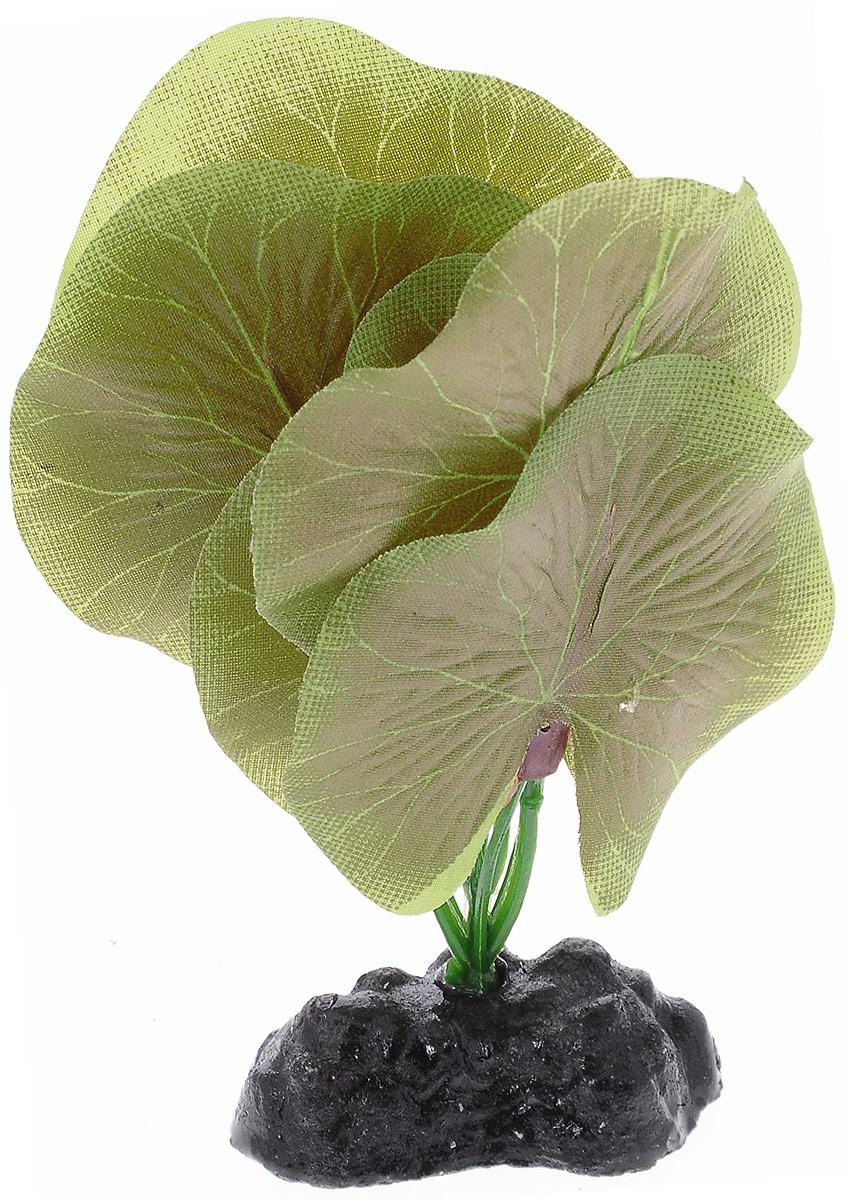 Растение для аквариума Barbus Лотос, шелковое, высота 10 см