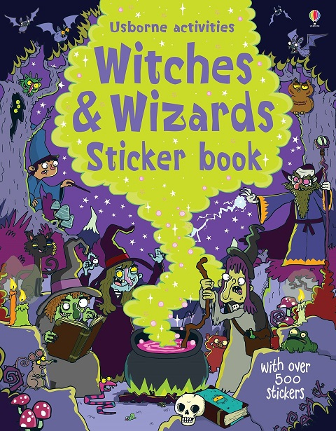 Witches & wizards sticker book the wizards of once