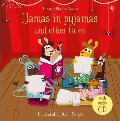 Llamas in pyjamas and other tales (with CD) the call of cthulhu and other weird tales