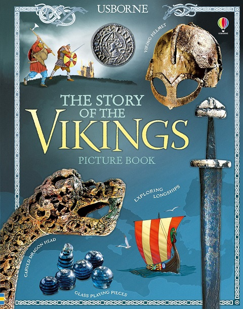 The story of the Vikings picture book chinese idiom story color picture of children s short story books to learn the phonetic version of 5 7 years old kids book