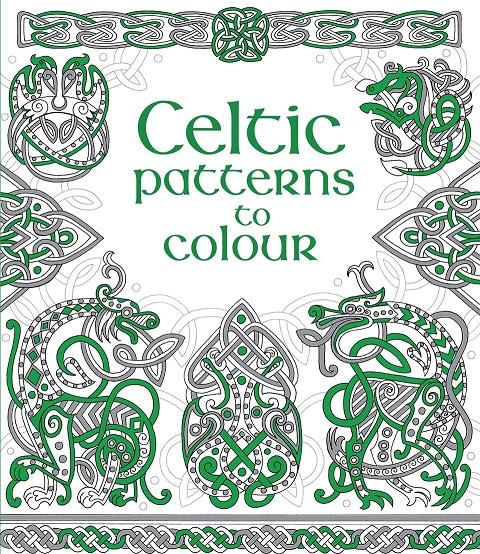 Celtic patterns to colour roman patterns to colour