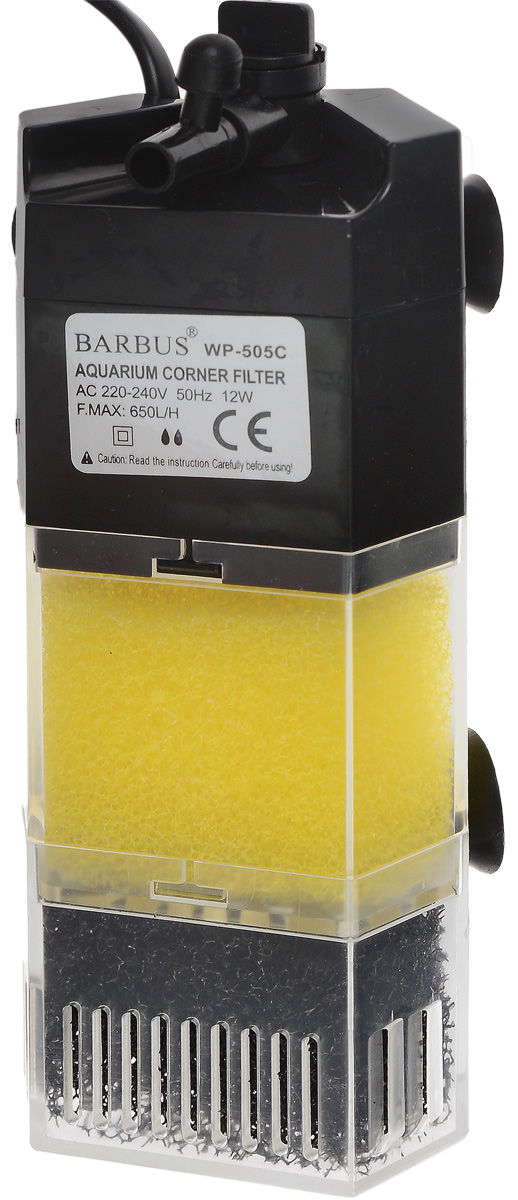Био-фильтр секционный Barbus, 400 л/ч, 8 Вт цена