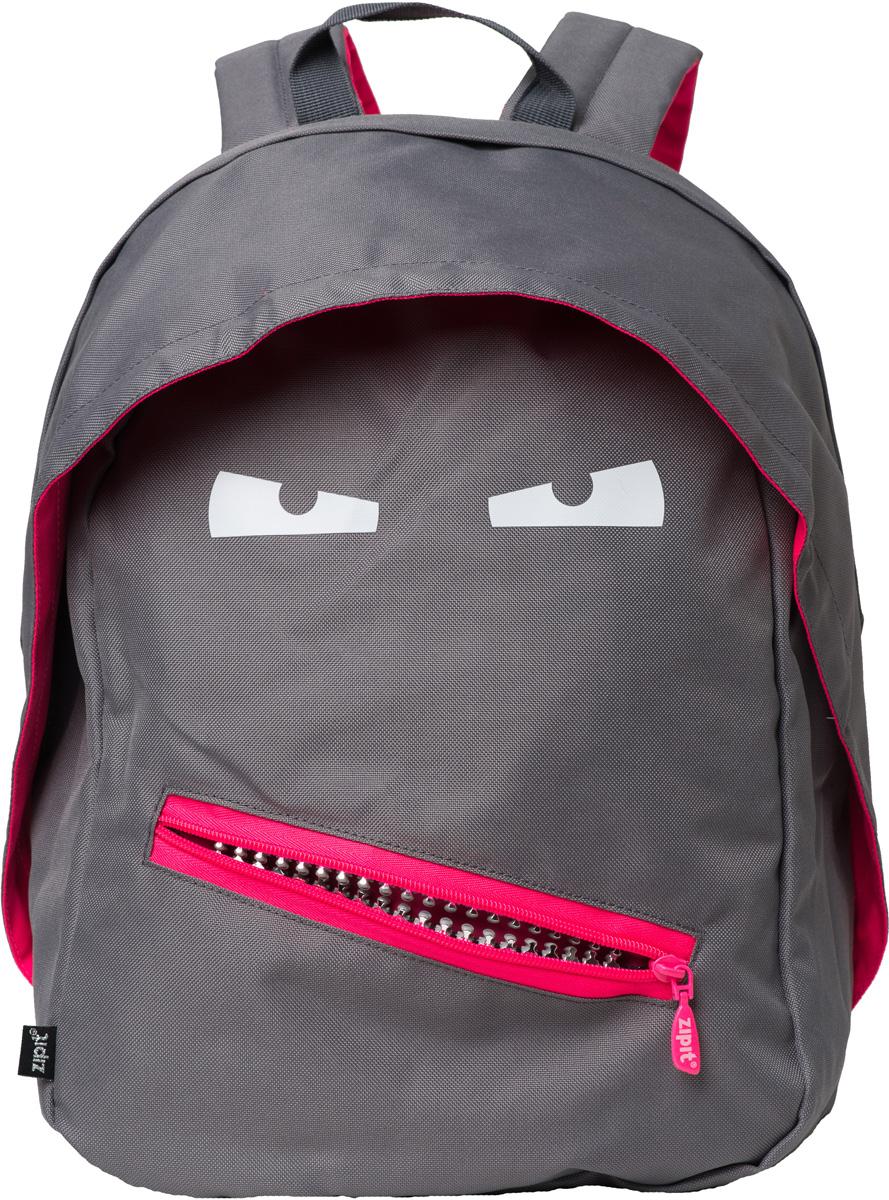 Zipit Рюкзак Grillz Backpacks цвет серый zipit пенал camo jumbo pouch цвет серый зеленый коричневый