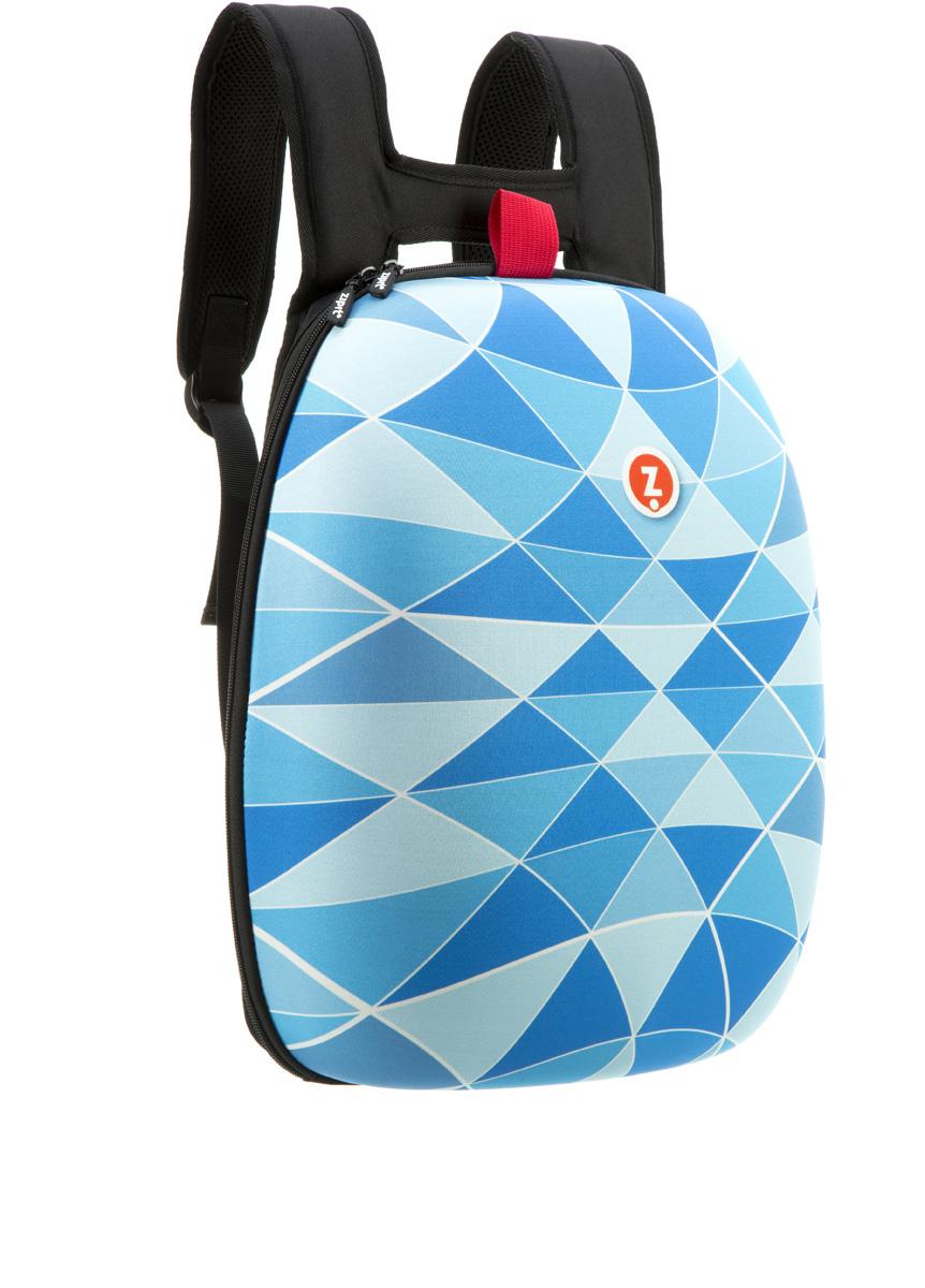 Zipit Рюкзак Shell Backpacks цвет голубойZSHL-BTПрочный жесткий рюкзак в мягкой обшивке на молнии сохранит все в целости и сохранности. Мягкая спинка, регулируемые ремни - обеспечат удобство и комфорт. Регулируемые лямки обеспечат плотную посадку. В рюкзаке у вас все будет в порядке - внутри несколько секций, так что есть место для всего. Размер рюкзака: 30 х 42 х 15 см.