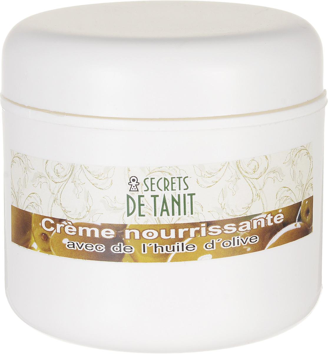 Secrets de Tanit Крем питательный с маслом оливы, 100 мг secrets de tanit шампунь с тфалью и маслом оливы 400 мл