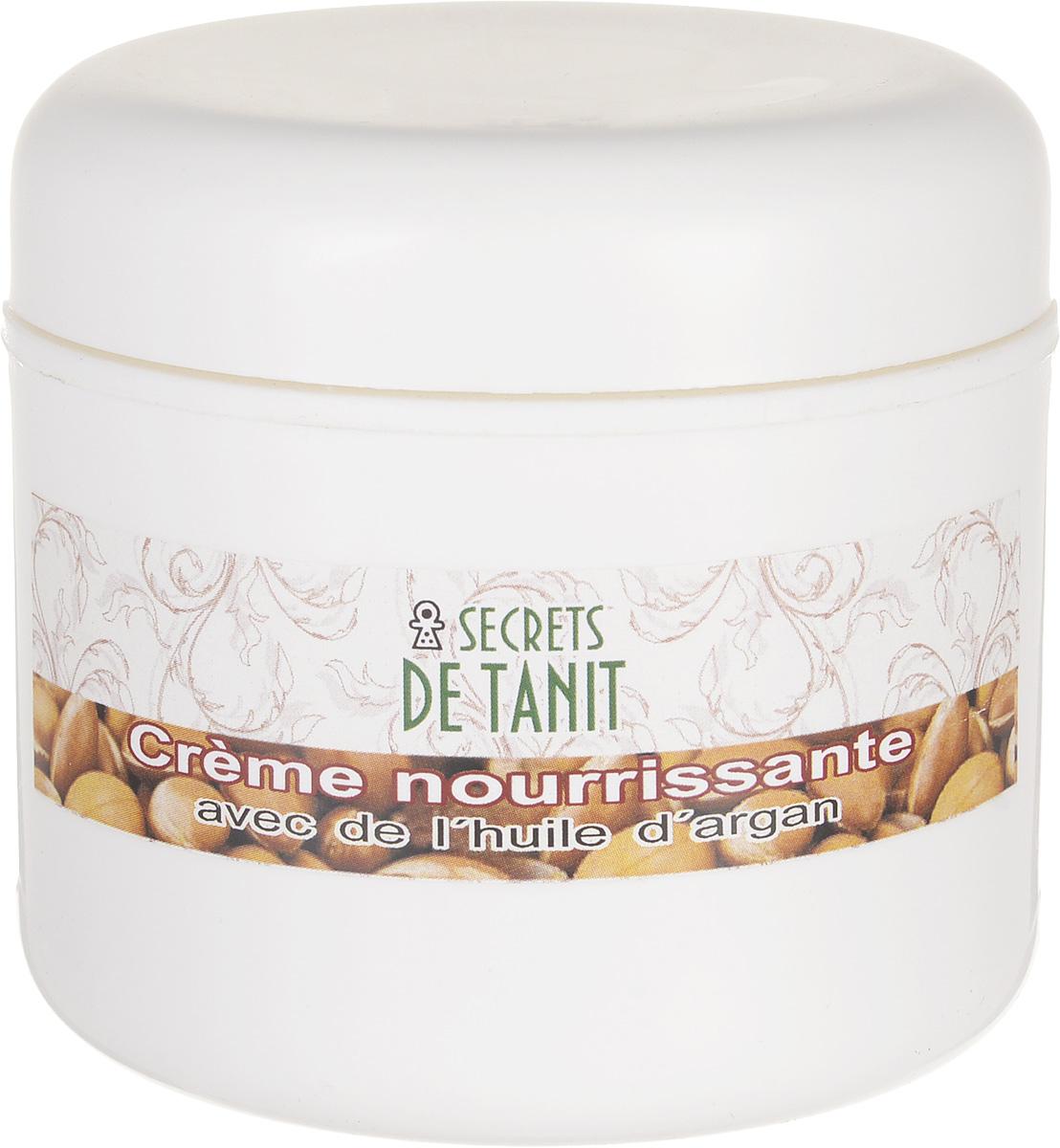 Secrets de Tanit Крем питательный для лица и шеи с маслом арганы, 100 г secrets de tanit шампунь с тфалью и маслом оливы 400 мл