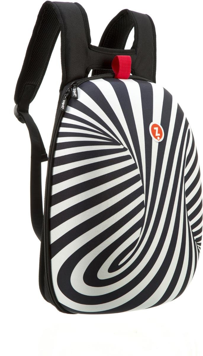 Zipit Рюкзак Shell Backpacks цвет черный белыйZSHL-BWSПрочный жесткий рюкзак в мягкой обшивке на молнии сохранит все в целости и сохранности. Мягкая спинка, регулируемые ремни - обеспечат удобство и комфорт. Регулируемые лямки обеспечат плотную посадку. В рюкзаке у вас все будет в порядке - внутри несколько секций, так что есть место для всего. Размер рюкзака: 30 х 42 х 15 см.