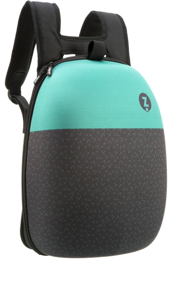 Zipit Рюкзак Shell Backpacks цвет черный бирюзовый zipit пенал сумочка neon pouch