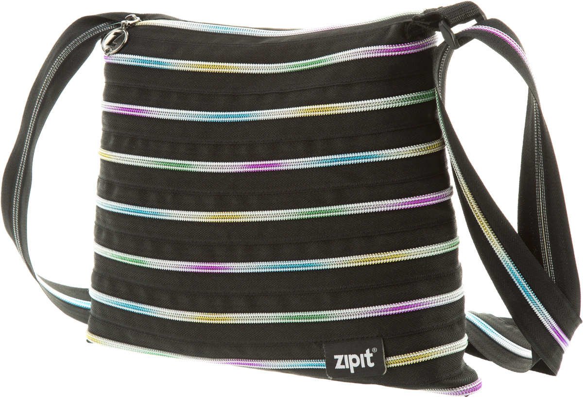 Zipit Сумка Medium Shoulder Bag цвет черный zipit сумка monster tote beach bag цвет черный
