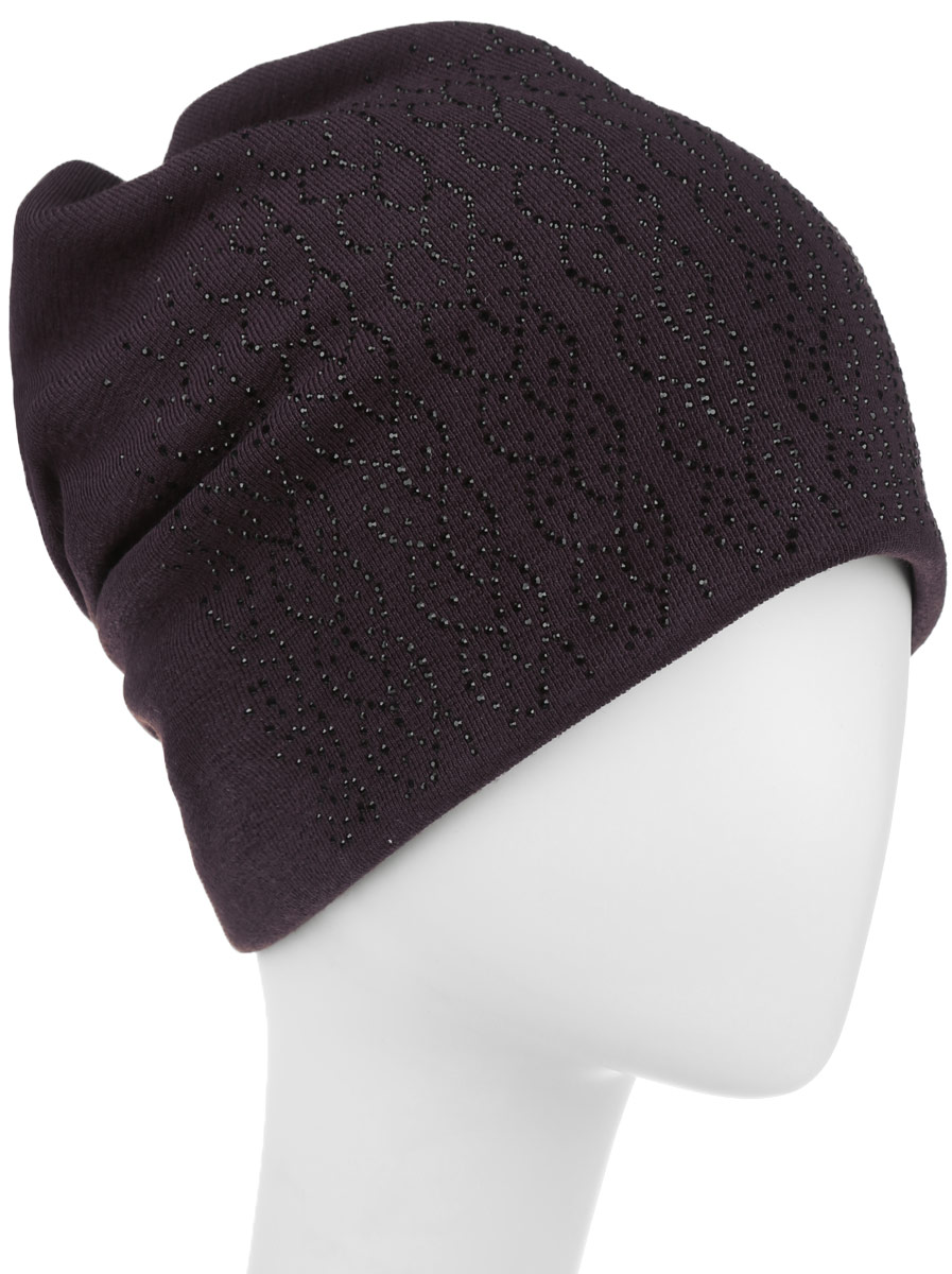 Шапка женская Level Pro Косичка, цвет: коричневый. 996358. Размер универсальный996358Стильная женская шапка Level Pro дополнит ваш наряд и не позволит вам замерзнуть в холодное время года. Шапка выполнена из шерсти с добавлением полиэстера, что позволяет ей великолепно сохранять тепло и обеспечивает высокую эластичность и удобство посадки. Сзади шапка присборена. Внутри - флисовая подкладка.Оформлена модель аппликацией из страз и на макушке дополнена большой стразой. Такая шапка составит идеальный комплект с модной верхней одеждой.