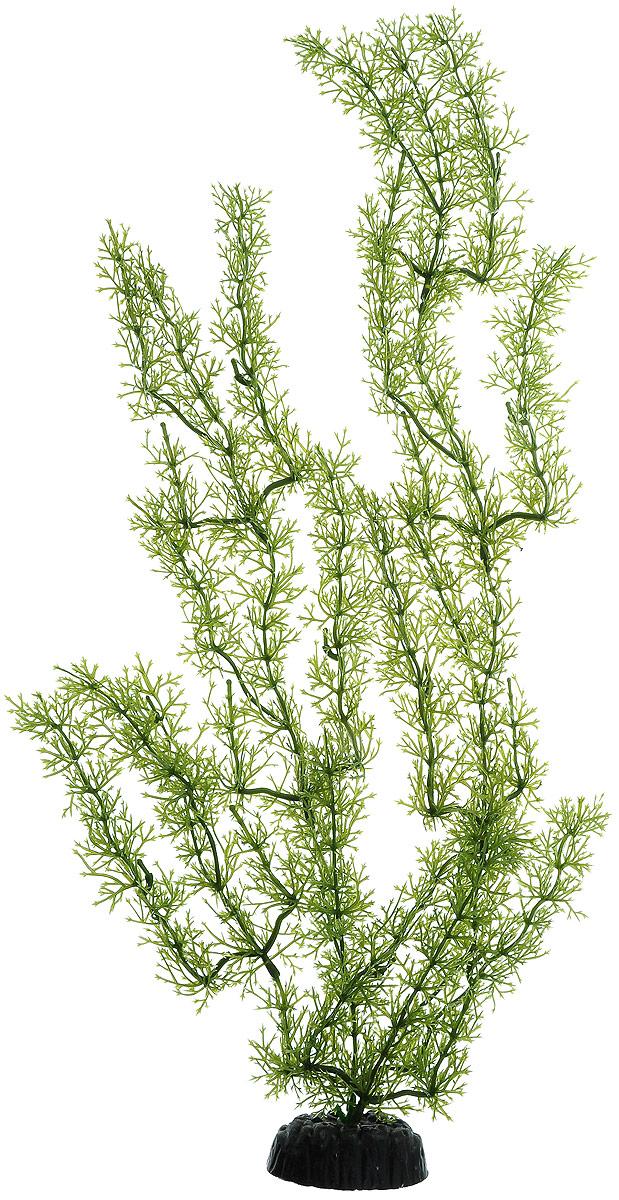 Растение для аквариума Barbus Яванский мох, пластиковое, высота 50 см растение для аквариума barbus людвигия ползучая красная пластиковое высота 30 см