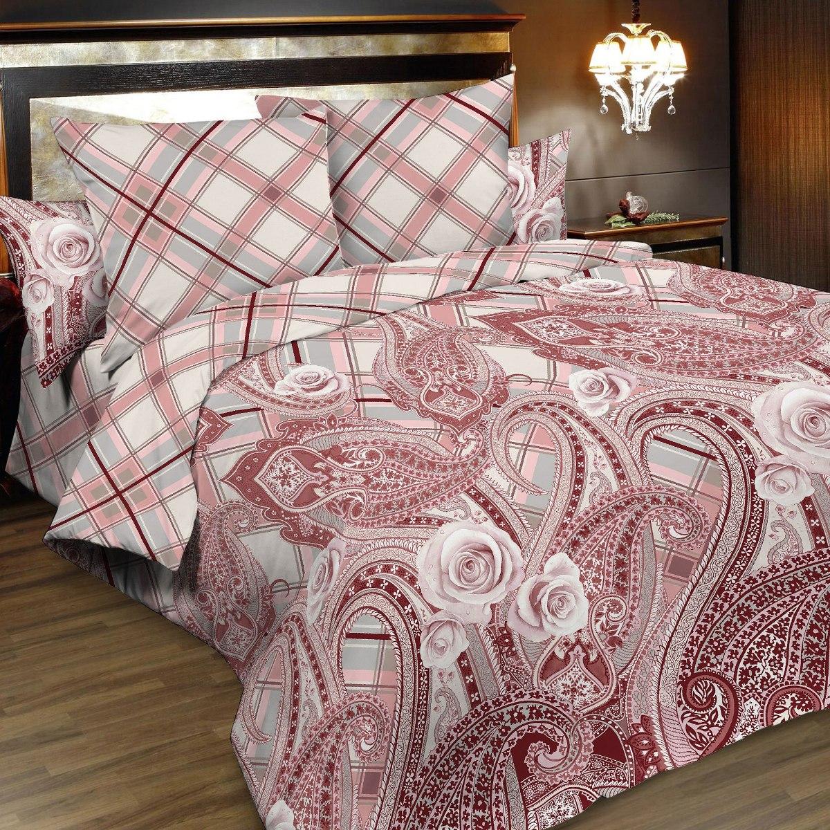 Комплект белья Letto, семейный, наволочки 70х70, цвет: розовый. B169-7 комплект белья letto семейный наволочки 70х70 цвет голубой синий b183 7