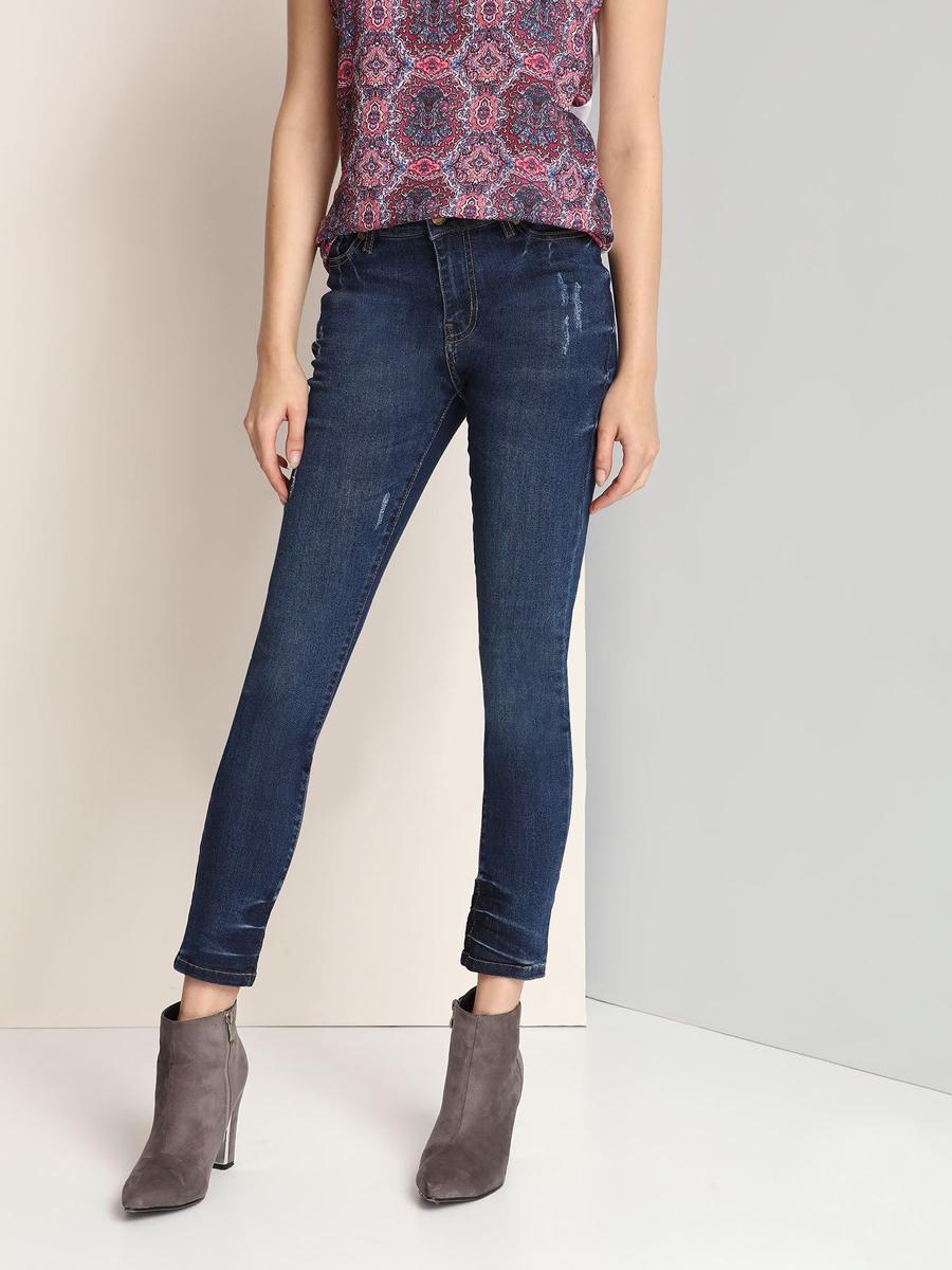 Джинсы женские Top Secret, цвет: синий. SSP2331NI. Размер 36 (42) шорты женские top secret цвет синий ssz0815ni размер 42 50