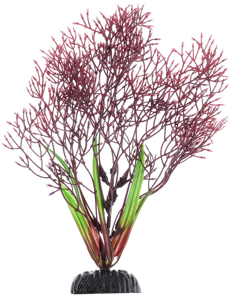 Растение для аквариума Barbus Горгонария, пластиковое, цвет: красный, высота 20 смPlant 032/20Растение для аквариума Barbus Горгонария, выполненное из качественного пластика, станет оригинальным украшением вашего аквариума. Пластиковое растение идеально подходит для дизайна всех видов аквариумов. Оно абсолютно безопасно, нейтрально к водному балансу, устойчиво к истиранию краски, подходит как для пресноводного, так и для морского аквариума. Растение для аквариума Barbus поможет вам смоделировать потрясающий пейзаж на дне вашего аквариума или террариума. Высота растения: 20 см.