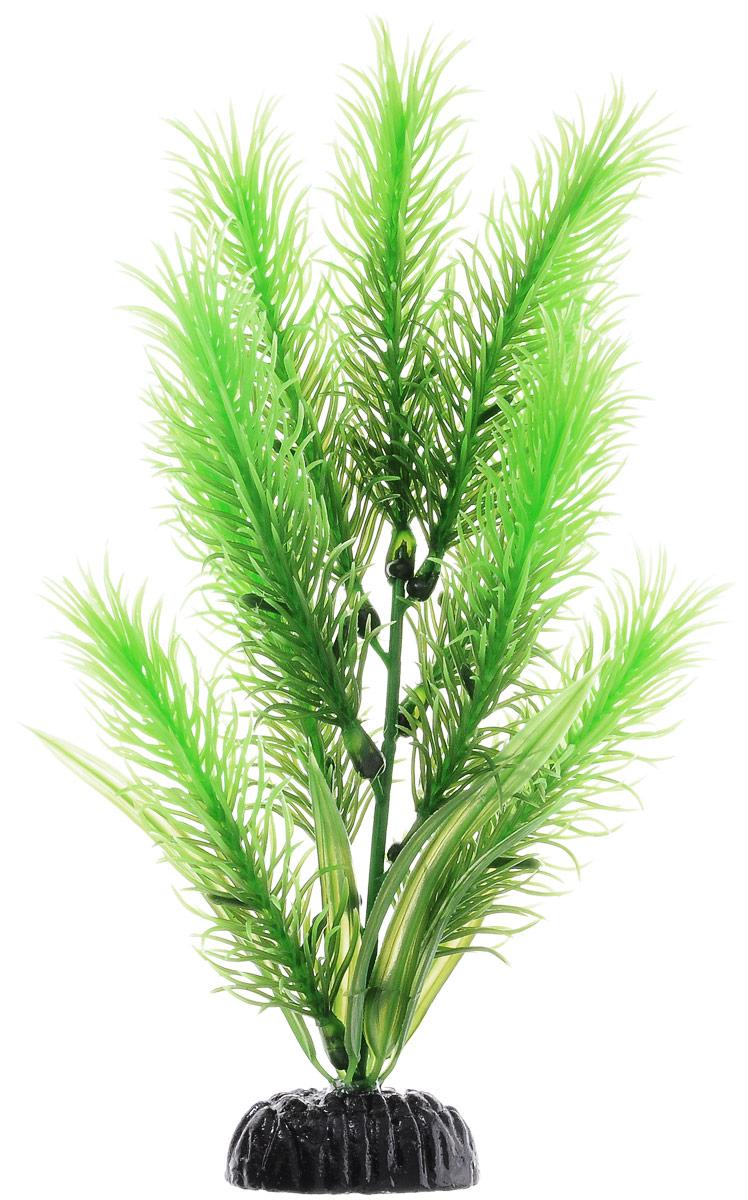 """Растение для аквариума Barbus """"Перистолистник зеленый"""", пластиковое, высота 20 см"""