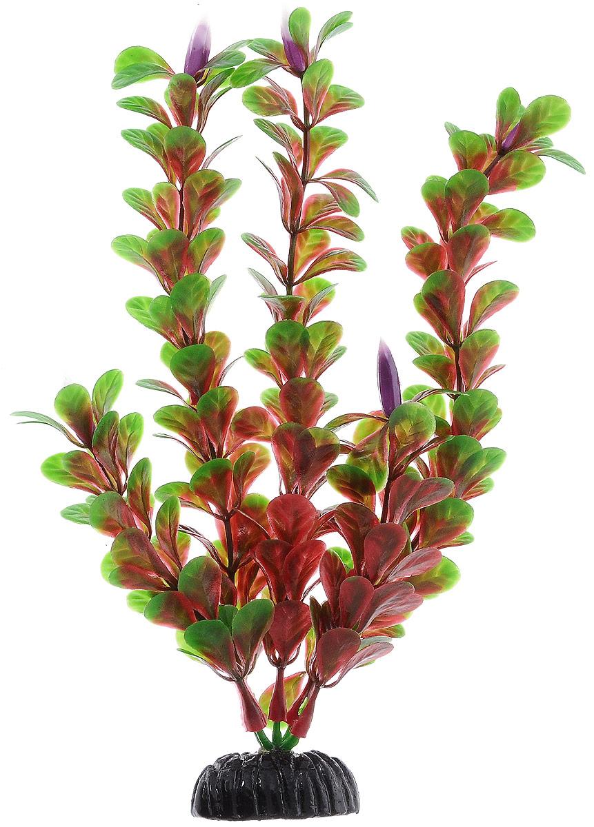 """Растение для аквариума Barbus """"Людвигия ползучая (красная)"""", пластиковое, высота 20 см"""