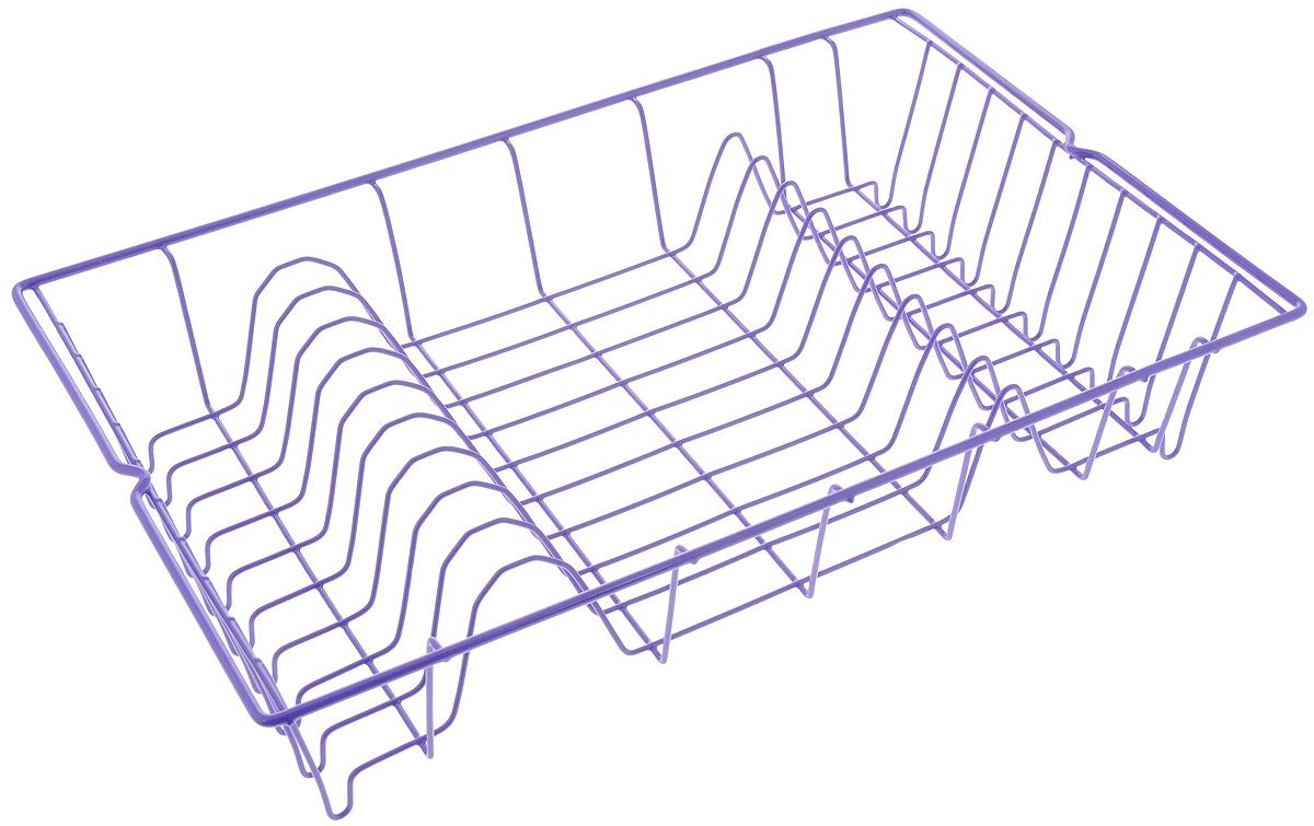 """Сушилка Metaltex """"Germatex"""", изготовленная из  стали,  представляет собой решетку с ячейками для посуды.  Сушилка Metaltex """"Germatex"""" не займет много места  на вашей кухне. Вы  сможете разместить на ней  большое количество предметов.  Компактные размеры и оригинальный дизайн  выделяют эту сушилку из ряда  подобных. Размер сушилки: 48 х 30 х 10 см."""