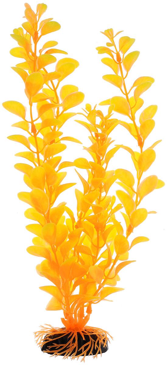 Растение для аквариума Barbus Людвигия, пластиковое, цвет: желто-оранжевый, высота 30 смPlant 012/30Растение для аквариума Barbus Людвигия, выполненное из качественного пластика, станет оригинальным украшением вашего аквариума. Пластиковое растение идеально подходит для дизайна всех видов аквариумов. Оно абсолютно безопасно, не токсично, нейтрально к водному балансу, устойчиво к истиранию краски, подходит как для пресноводного, так и для морского аквариума. Растение для аквариума Barbus поможет вам смоделировать потрясающий пейзаж на дне вашего аквариума или террариума. Высота растения: 30 см.