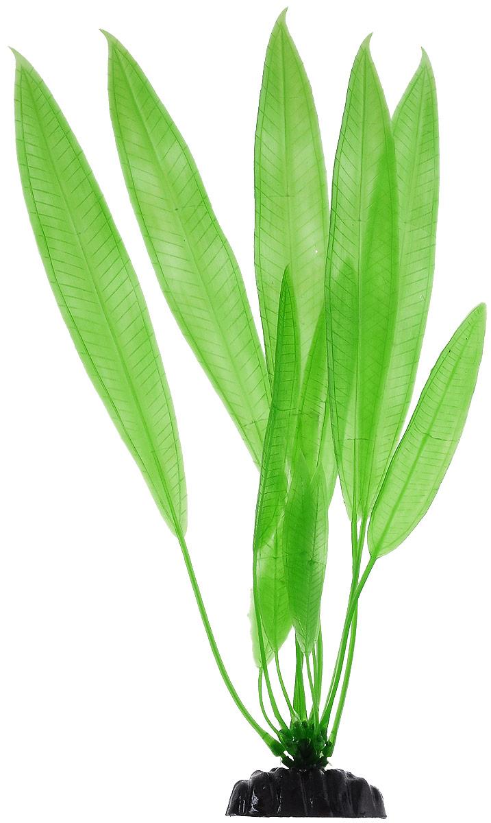 """Растение для аквариума Barbus """"Эхинодорус амазонский"""", пластиковое, высота 30 см"""