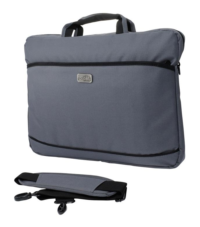Сумка для ноутбука 17 PC Pet 600D, Grey (PCP-A1317GY)PCP-A1317GYПростая, тонкая сумка для ноутбуков с экраном диагональю 17.3 дюймов, выполненная из прочного и износостойкого нейлона. Внутри сумка обшита мягким материалом, который препятствует появлению царапин.