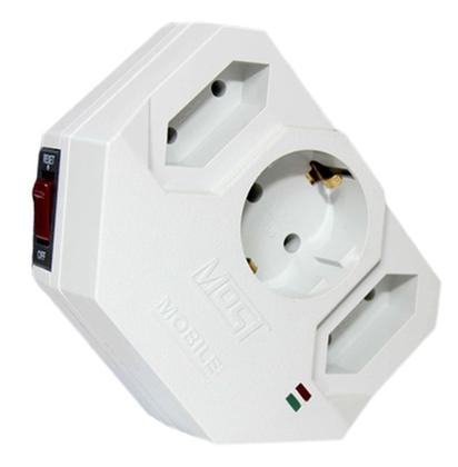 Сетевой фильтр Most MHV (3 розетки), White сетевой фильтр lightspeed cls x e55
