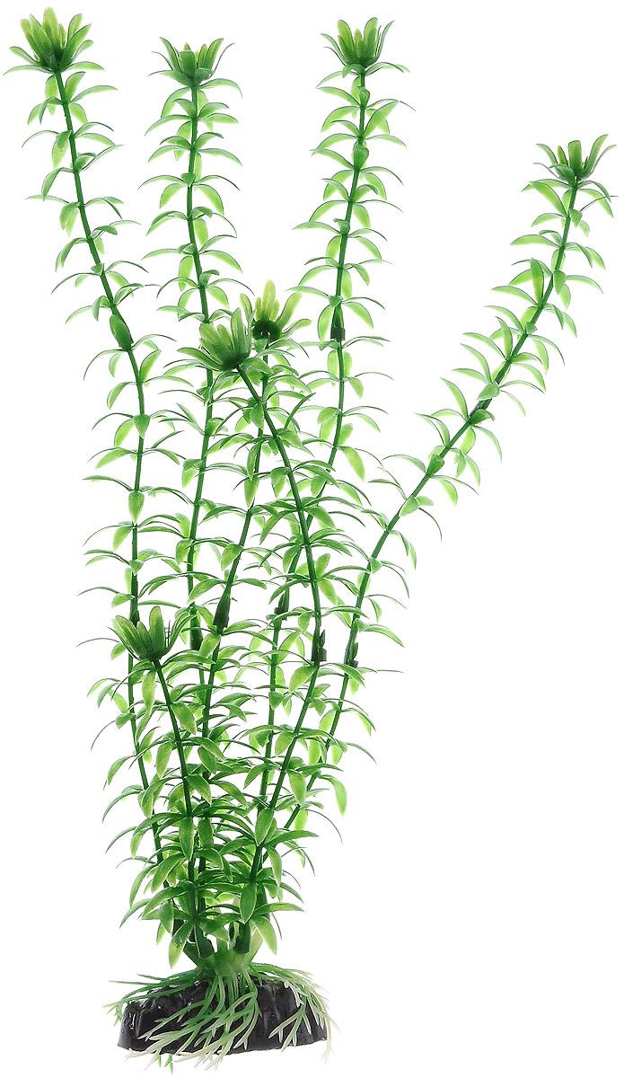 Растение для аквариума Barbus Элодея, пластиковое, высота 30 см скребок для аквариума хаген складной