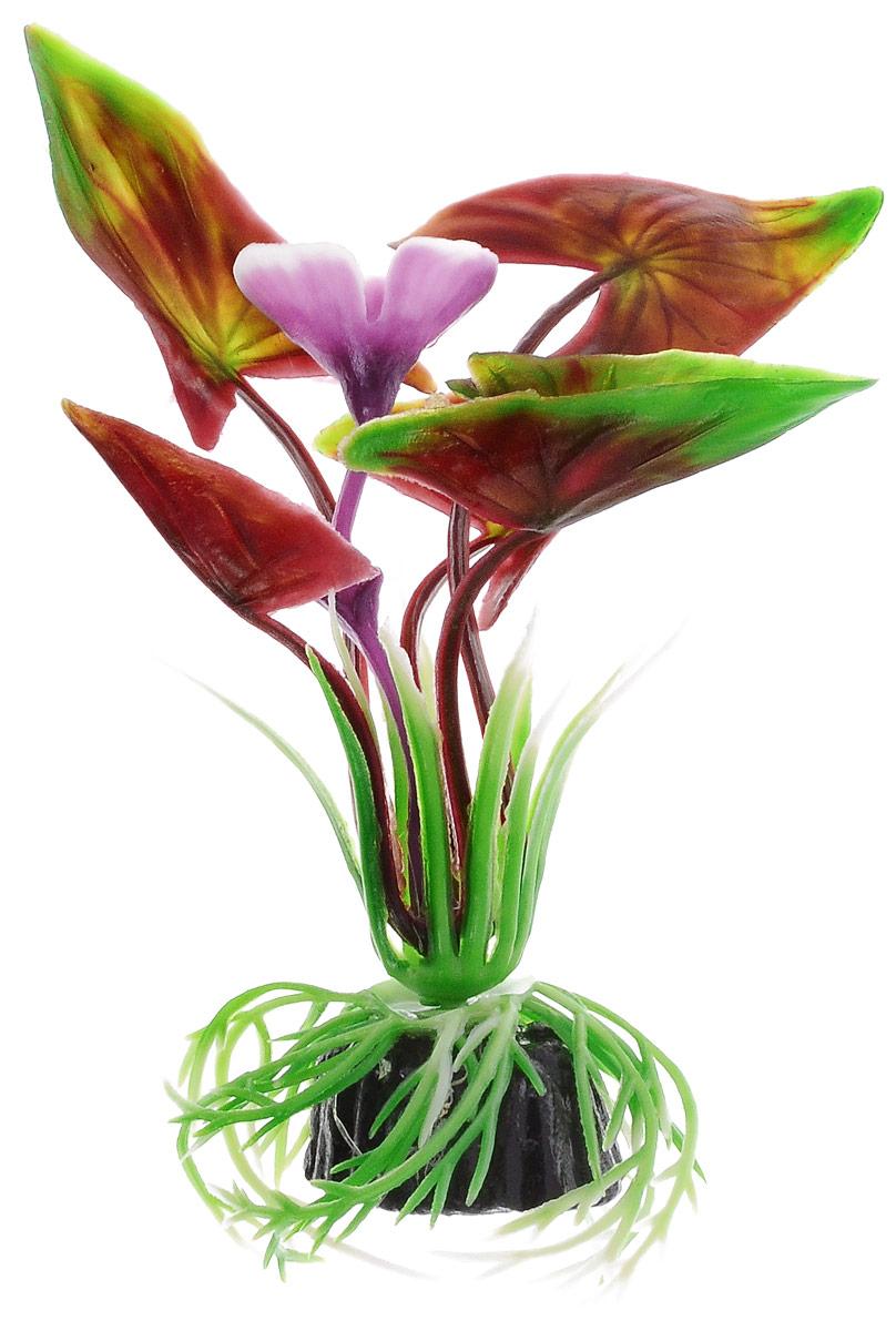 Растение для аквариума Barbus Водная Калла, пластиковое, высота 10 смPlant 008/10Растение Barbus Водная Калла, выполненное из высококачественного нетоксичного пластика, станет прекрасным украшением вашего аквариума. Пластиковое растение идеально подходит для дизайна всех видов аквариумов. В воде происходит абсолютная имитация живых растений. Изделие не требует дополнительного ухода. Оно абсолютно безопасно, нейтрально к водному балансу, устойчиво к истиранию краски, подходит как для пресноводного, так и для морского аквариума. Растение для аквариума Barbus Водная Калла поможет вам смоделировать потрясающий пейзаж на дне вашего аквариума.Высота растения: 10 см.