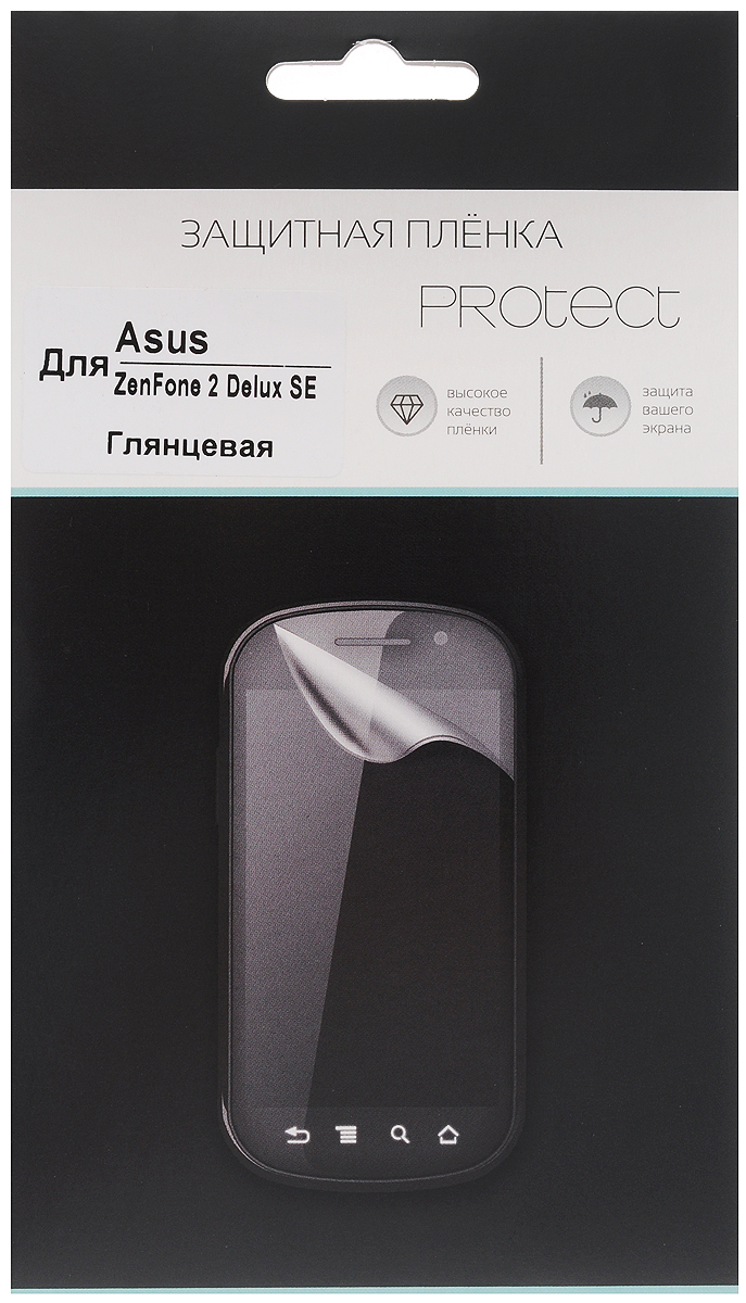 Protect защитная пленка для Asus ZenFone 2 Deluxe SE, глянцевая protect deluxe tenor saxophone bag black