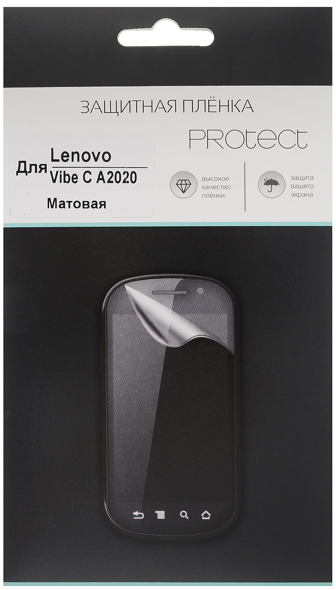 Protect защитная пленка для Lenovo Vibe C A2020, матовая защитная пленка liberty project защитная пленка lp для lenovo vibe x s960 прозрачная