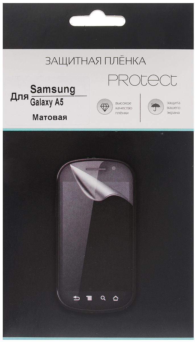 Protect защитная пленка для Samsung Galaxy A5 SM-A500F, матовая brand new a5 lcd screen with touch screen digitizer for samsung galaxy a5 a500 a500f a500fu a500m a500y a500fq lcd display