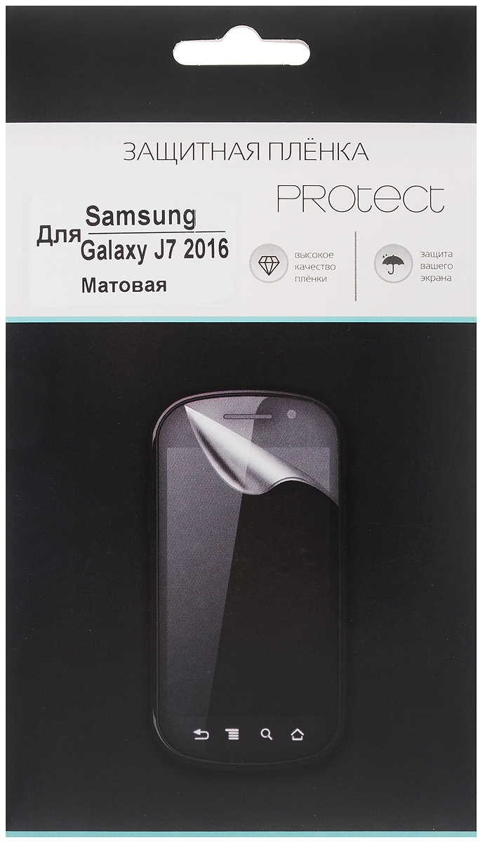 Protect защитная пленка для Samsung Galaxy J7 (2016), матовая protect защитная пленка для asus zenpad c 7 0 z170cg матовая