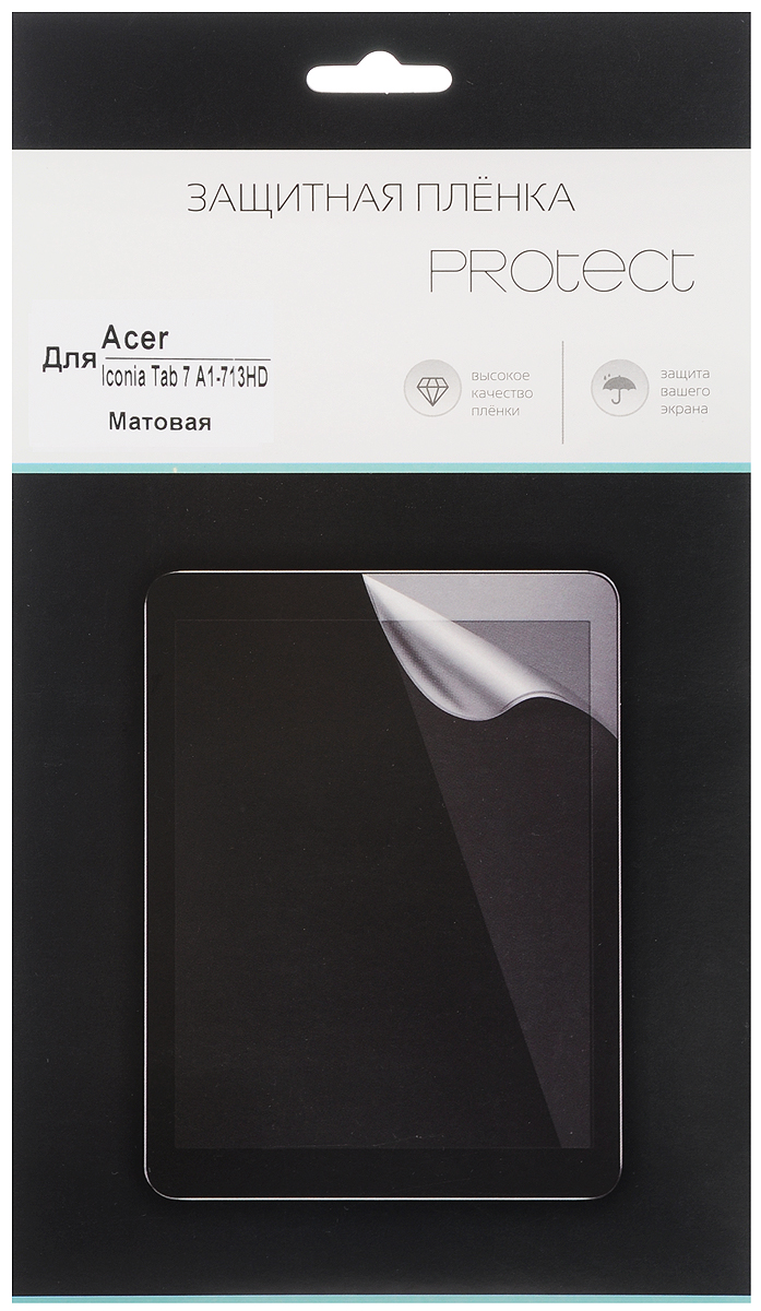 Protect защитная пленка для Acer Iconia Tab 7 A1-713HD, матовая 7 original new lcd display screen for acer iconia tab b1 710 hj070na 13a
