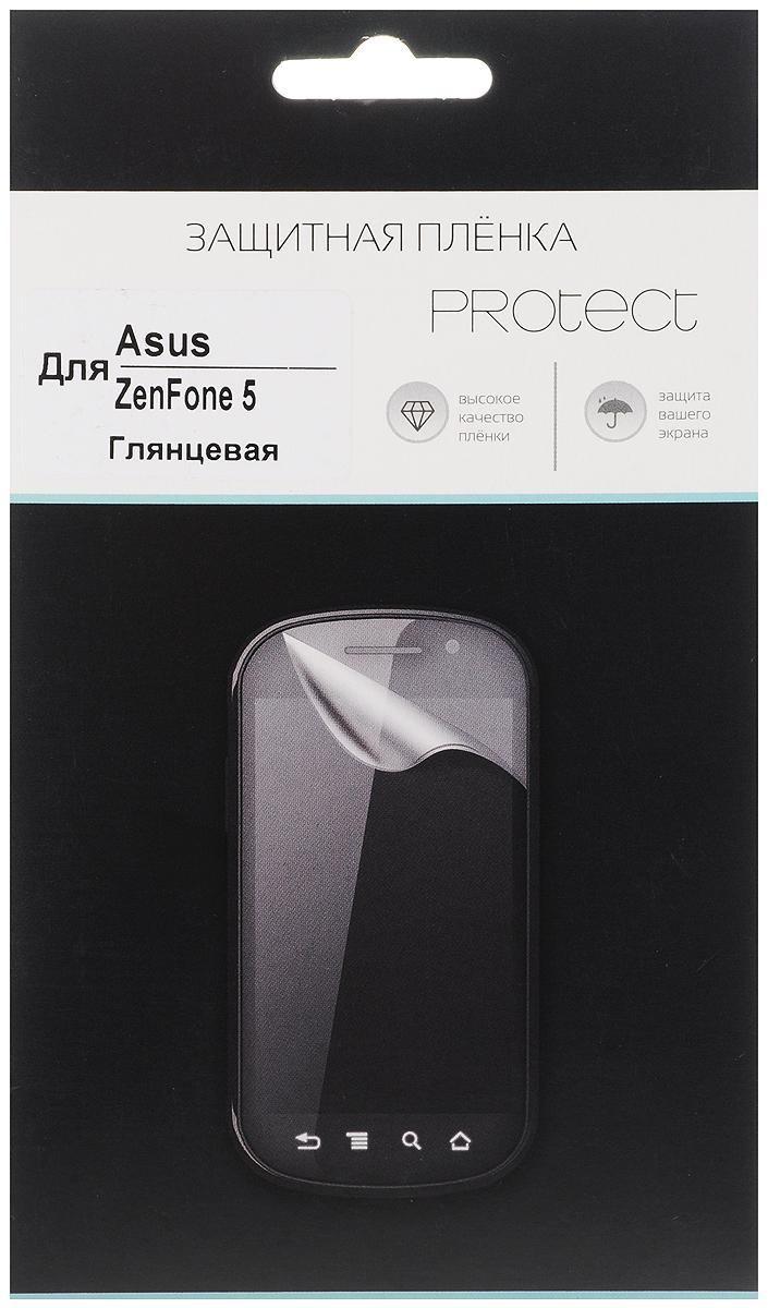 Protect защитная пленка для Asus ZenFone 5, глянцевая защитная пленка onext для asus zenfone 2 ze500cl 40944
