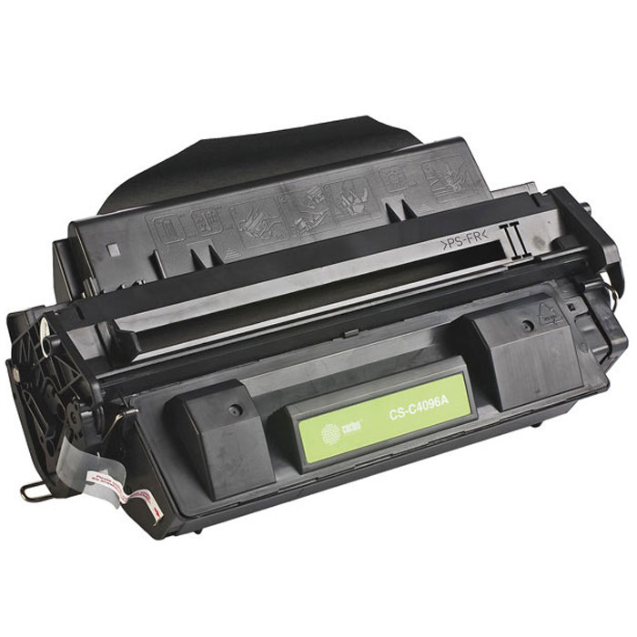 Cactus CS-C4096A, Black тонер-картридж для HP LJ 2100/2200 картридж cactus cs ce313a purple для hp lj cp1012pro cp1025