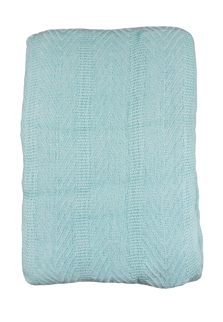Покрывало Arloni, цвет: бирюзовый, 225 х 225 см. 82-1010ES-412Покрывало Arloni изготовлено из экологически чистых материалов: хлопка (50%) ибамбука (50%), поэтому подходит как для взрослых, так и для детей. Оно будет хорошосмотреться и на диване, и на большой кровати.Покрывало Arloni не только подарит тепло, но и гармонично впишется винтерьер вашего дома.
